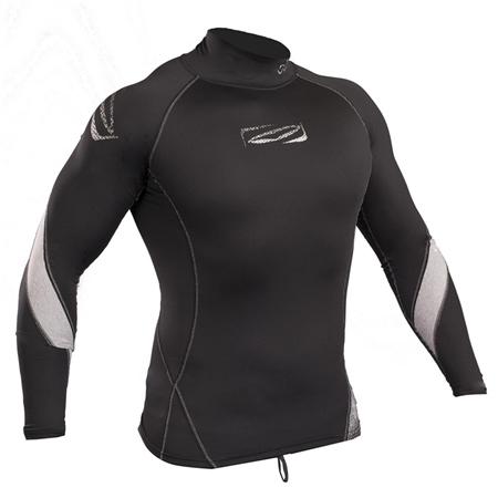 Gul Xola Rash Vest - Black  - Click to view a larger image