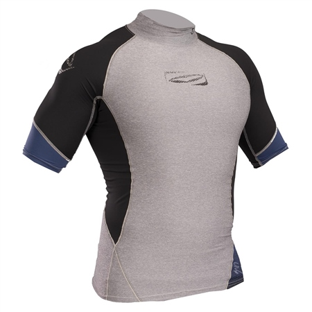 Gul Xola Rash Vest - Grey & Black  - Click to view a larger image