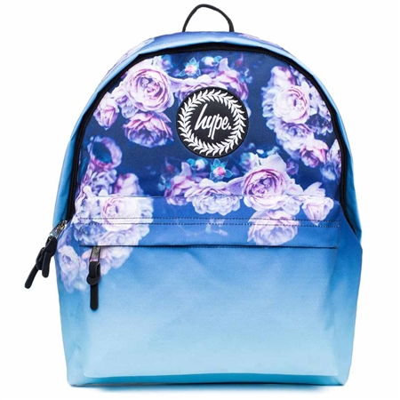 Hype Rose Fade Backpack - Blue  - Click to view a larger image