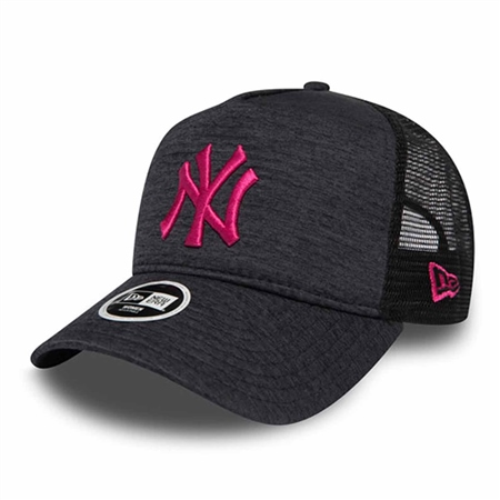 New Era Jersey Essential Trucker Cap - Neyyan  - Click to view a larger image