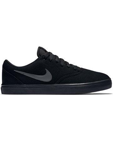 Nike SB Check Solar Shoes - Black  - Click to view a larger image