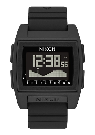 Nixon Base Tide Pro 1 Watch - Black  - Click to view a larger image