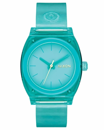 Nixon Med Time Teller P 2 Watch - Turquoise  - Click to view a larger image