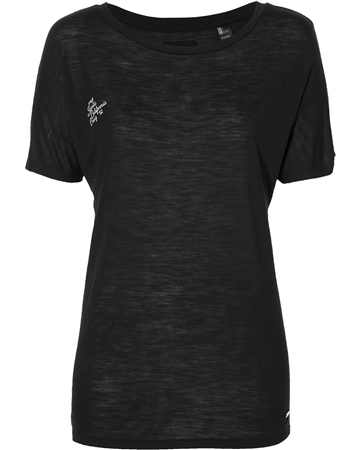 O'Neill Essential Drapey T-Shirt - Blackout  - Click to view a larger image