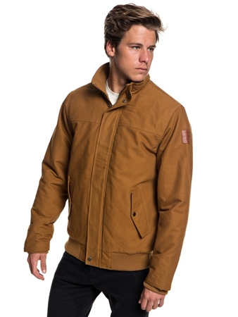 Quiksilver Brooks Jacket - Rubber  - Click to view a larger image