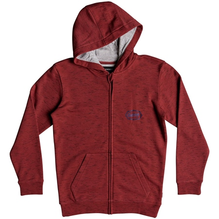 Quiksilver Livin Edge Hoody - Garnet  - Click to view a larger image
