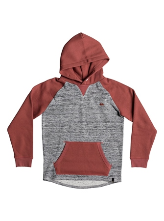 Quiksilver Stimpies Hoody - Mineral Red  - Click to view a larger image