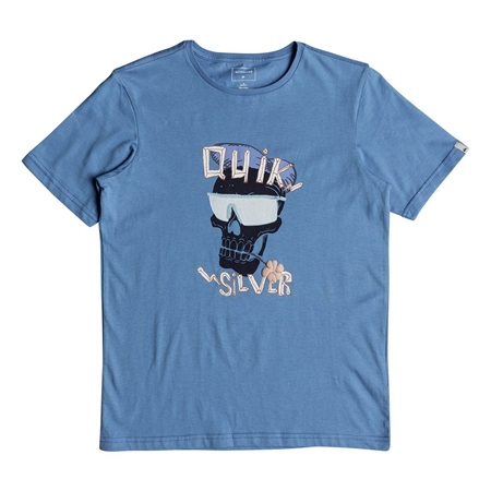 Quiksilver You See Me T-Shirt - Cendre Blue  - Click to view a larger image