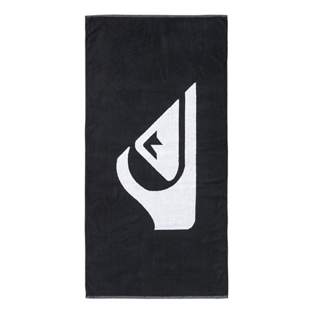 Quiksilver Woven Logo Towel - Black  - Click to view a larger image