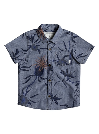 Quiksilver Shaka Mate Shirt - Blue  - Click to view a larger image