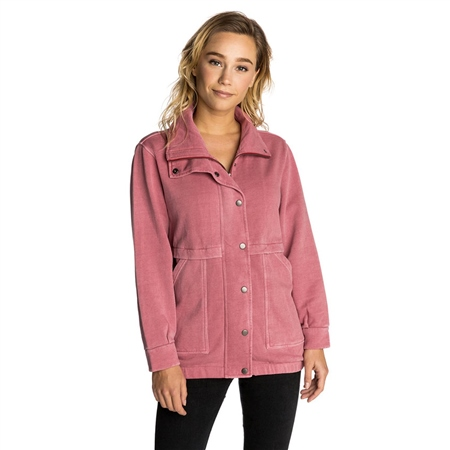 Rip Curl Shaded Fleece Jacket - Rose  - Click to view a larger image