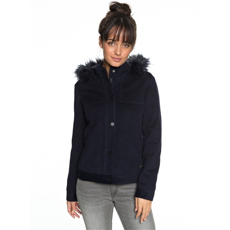 Roxy Chic Snow Jacket - Blue  - Click to view a larger image
