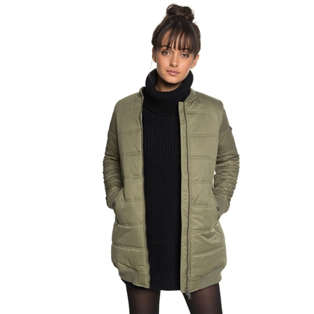 Roxy Fade Out Jacket - Olive  - Click to view a larger image