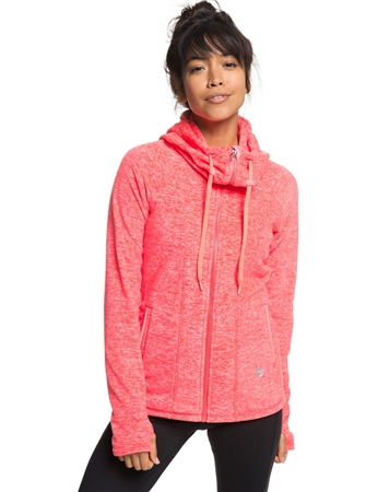 Roxy Electric Hoody - Pink  - Click to view a larger image