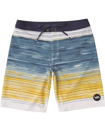 RVCA Arica Boardshorts - Deja Blue  - Click to view a larger image