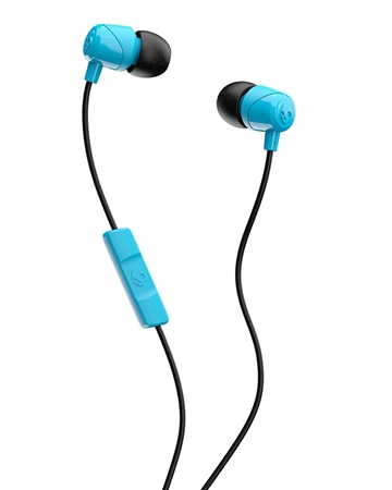 Skullcandy Jib Headphones (with mic) - Blue & Black  - Click to view a larger image