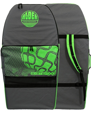 Alder System 2 Bodyboard Bag - Grey  - Click to view a larger image