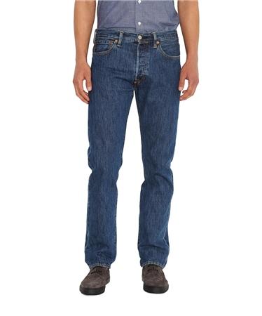 Levi's 501 Core Levi Original Jeans - Blue  - Click to view a larger image