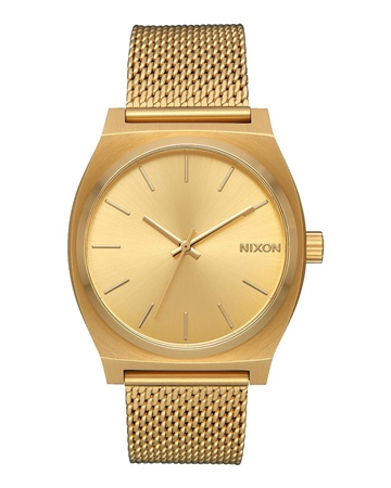 Nixon Time Teller Mila 3 Watch - Gold  - Click to view a larger image