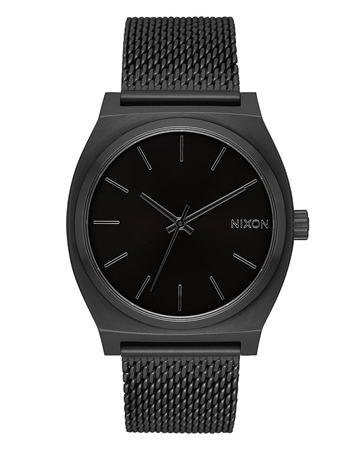 Nixon Time Teller Milanese 4 Watch - All Black  - Click to view a larger image