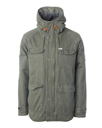 Rip Curl Park Jacket - Olive  - Click to view a larger image
