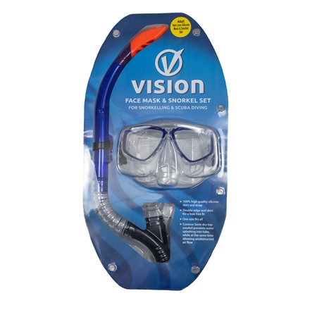 Vision Combo Mask Set - Assorted  - Click to view a larger image