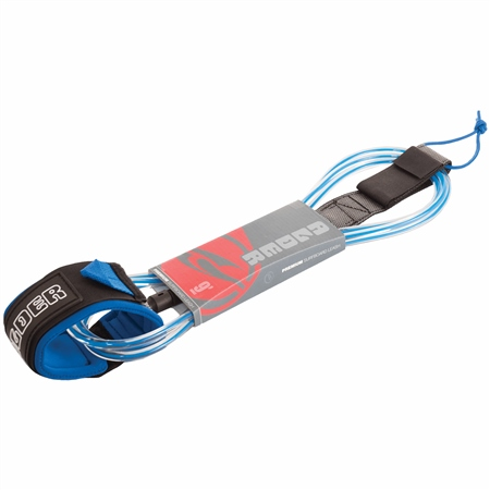 Alder Ultra 8ft Leash in Blue  - Click to view a larger image