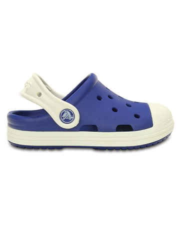 Crocs Bump It Clogs in Blue & Oyster  - Click to view a larger image