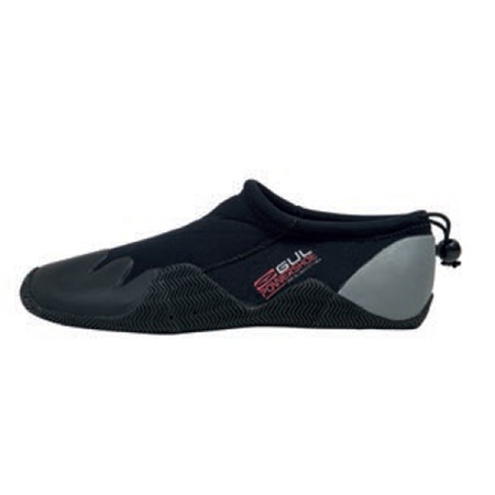 Gul 3/2mm Power Slipper  in Black & Grey  - Click to view a larger image