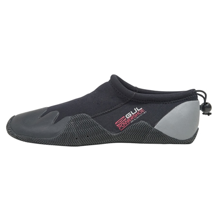 Gul Junior Power Slipper Boot in Black & Grey  - Click to view a larger image