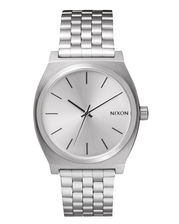 Nixon Time Teller Watch - All Silver   - Click to view a larger image