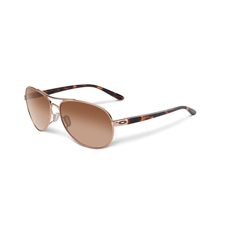 Oakley Feedback Sunglasses - Rose Gold  - Click to view a larger image