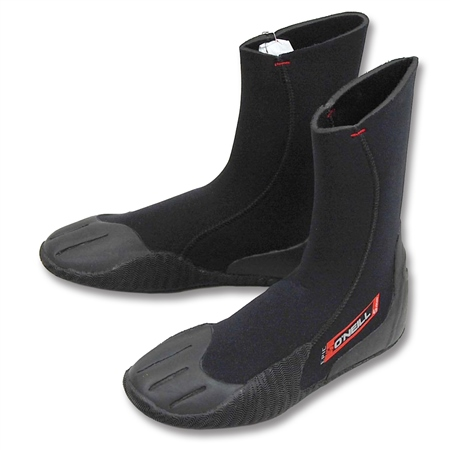 O'Neill Epic 5mm Wetsuit Boots - Black  - Click to view a larger image