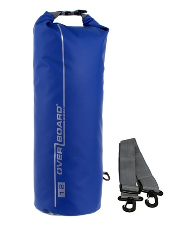 Overboard 12 Litre Dry Tube Bag - Blue  - Click to view a larger image