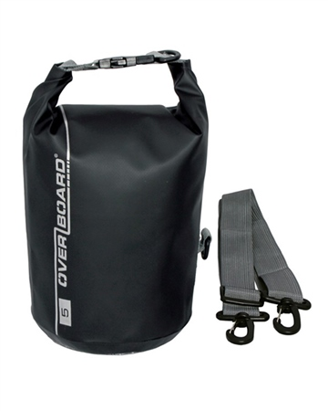 Overboard 5 Litre Dry Tube Bag - Black  - Click to view a larger image