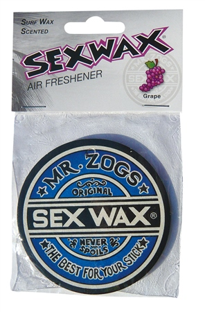 Sex Wax Grape Air Freshener  - Click to view a larger image