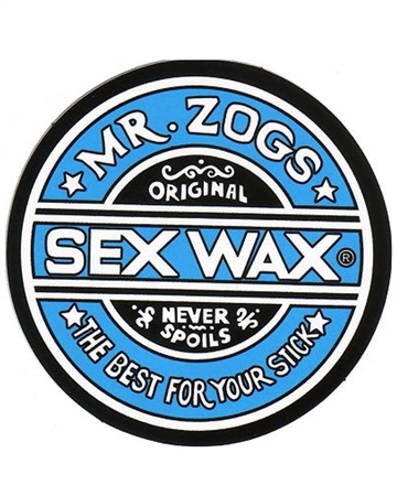 Sex Wax Original Wax - Blue (Tropical Water)  - Click to view a larger image