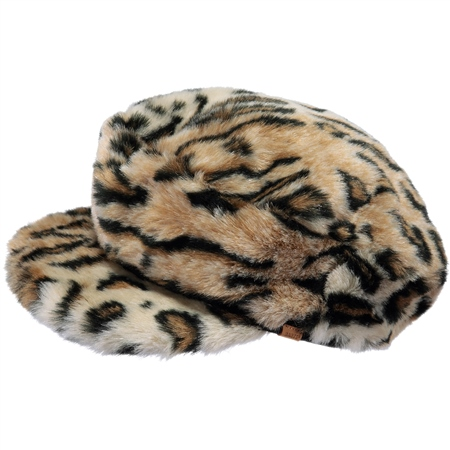 Barts Gypso Cap - Leopard  - Click to view a larger image