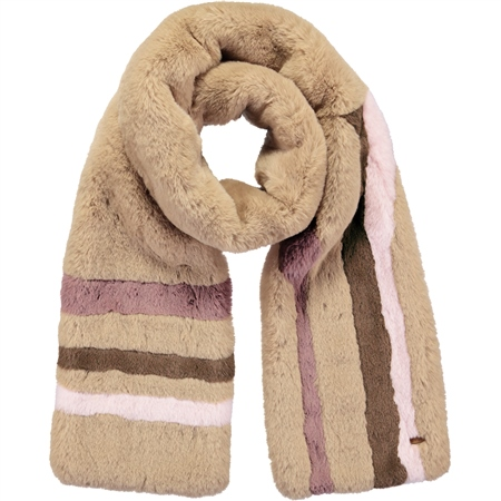 Barts Phylla Scarf - Light Brown  - Click to view a larger image