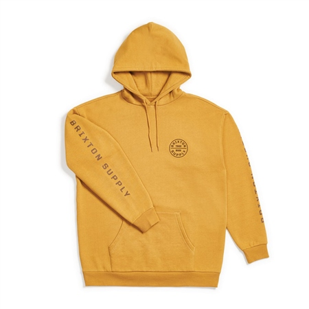 Brixton Oath IV Hoody - Maize  - Click to view a larger image
