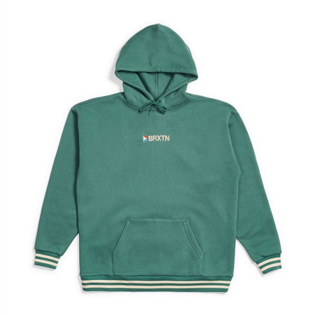 Brixton Stowell IV Hoody - Emerald  - Click to view a larger image