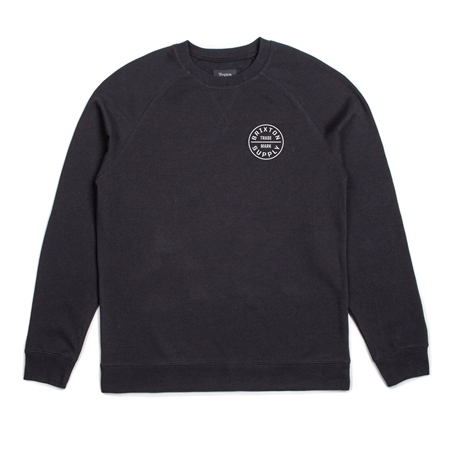 Brixton Oath Sweatshirt - Black  - Click to view a larger image