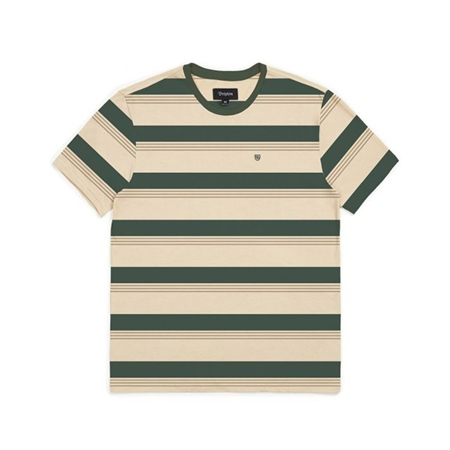 Brixton Hilst T-Shirt - Emerald  - Click to view a larger image