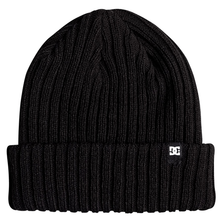 DC Shoes Fish N Destroy Beanie - Black  - Click to view a larger image