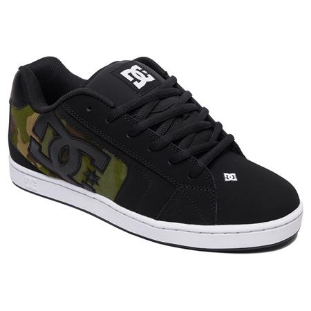 DC Shoes Net SE Shoes - Black & Camo  - Click to view a larger image