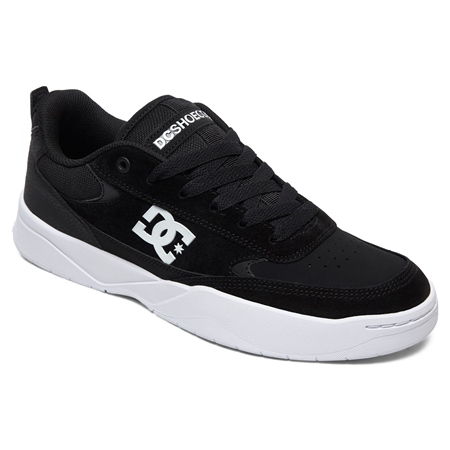 DC Shoes Penza Shoes - Black & White  - Click to view a larger image
