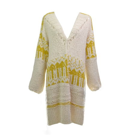 Free People Astrid  Cardigan - Yellow  - Click to view a larger image