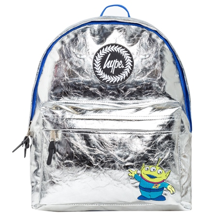 Hype Alien Cosmo Backpack - Silver  - Click to view a larger image