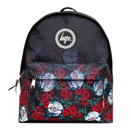 Hype Garden Fade Backpack - Black  - Click to view a larger image