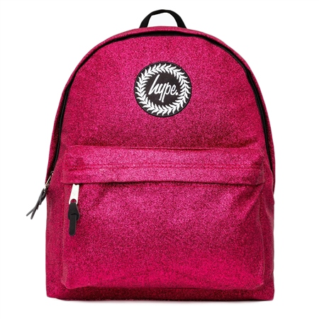 Hype Glitter Backpack - Pink  - Click to view a larger image